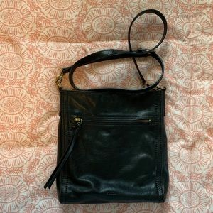 Fossil Black Crossbody Bag